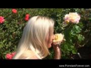 Blonde Czech MILF Rough Threesome