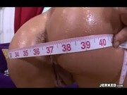 Jordana James at Bubble Butt Tryouts