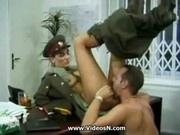 KGB Military Girl Fucks Recruit ..