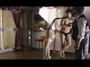 Asian stocking spanking