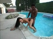 Hot Poolside Fucking With Lani Lei