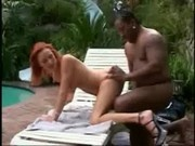 Donna Marie Sucks And Fucks A Big Black Cock Outdoor
