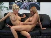 lesbian busty milf