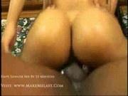Natalie - Ebony ass penetration -1