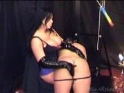 Miss Krista waxing & otk spanking
