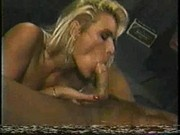 Debi Diamond with Rocco in Bar
