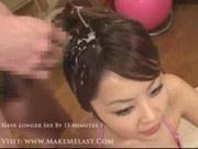 Yuka Haneda - bukkake
