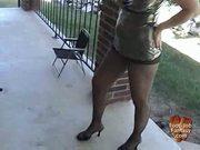 Halloween foot job trick or treat