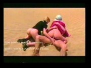 Vixen - Hot Threesome Desert Fun