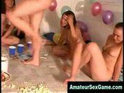 Lesbian amateur groupsex dare games