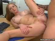Amber Stone Is Desperate To Get A Job - Backroom MILF