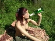 Family picnic. Have fucked a step sister, while preparing a