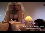 Esther - Busty blonde dildoing with sexy slut1