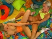 Lesbian Teens Playing Their Toys - Classroom To Bedroom