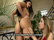 Aletta and Peaches from sapphic erotica, lesbian girls teasing