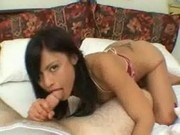Jayna Oso sucking white cock wild at All Asian Pass