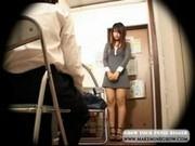 Asian Girl Sakura Strips for Mall Cop
