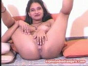 Tina - Naked Indian Slut Fingering