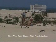 Sonya - Public sex in the beach