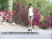 Trisha - Ftv - Teen Outdoor Toying Fun