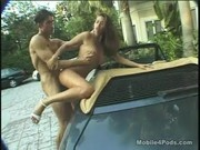 Pornstar Tera Patrick Gets Fucked on a Hot Sports Car