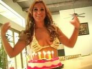 MIM - Lia's 23rd birthday -she makes a mess