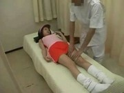 Japanese Teen Massaged Bone Knuckle Joints