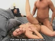 Housewife Banged On Bed