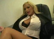 Shyla stylez interracial office fuck