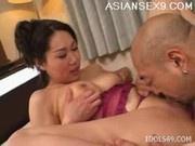 Fujiko Sakura Dominant Lady Asian Tramp Enjoys Being The Top Dog