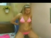 Amateur Blonde Homemade Stripdance