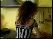 French housewife fucked in the kitchen