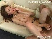 Maiko Ohshiro Av Idol Creampie Japanese Tramp  In Thong Shows Off Her Thong