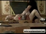 Amazing Blonde Teen`s Private Lesson