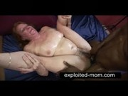 old whore taking big black cock