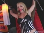 Gag Ball and Chains with Missy Monroe - Squirting Land