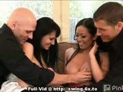 Rookie Swingers Oral Foursome