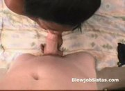 Thick ebony whore gags on dick on amateur interracial pov