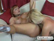 Katja kassin and bobbi - sweet lesbian pussies