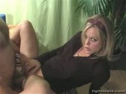 Sexy blonde teen suck and fuck