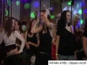 Sexy women dancing on party