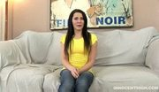 Lovely black haired madison ivy rammed hard