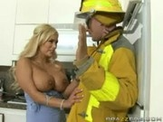 Shyla Stylez fucks the Fireman - Real Wife Stories