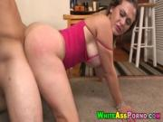 Big booty babe Carmen Ross blowjob and fucked doggystyle