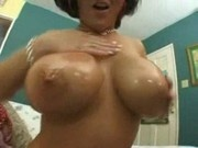 Busty Half-Asian Squirting From A Monster Cock