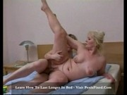 Mature woman and young guy having fun2