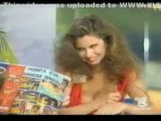 Deborah caprioglo italian celeb nipslip at tv show!