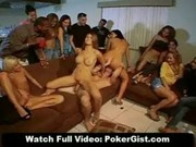 Poker Party Turns Orgy