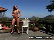 Julyanna Gets Oiled And Fucked Outdoor - Phat Latin Butts