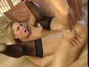 Blonde In Stockings Hardcore